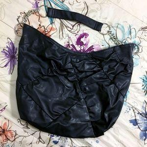 Handbags - Black Hobo Bag — Black Purse